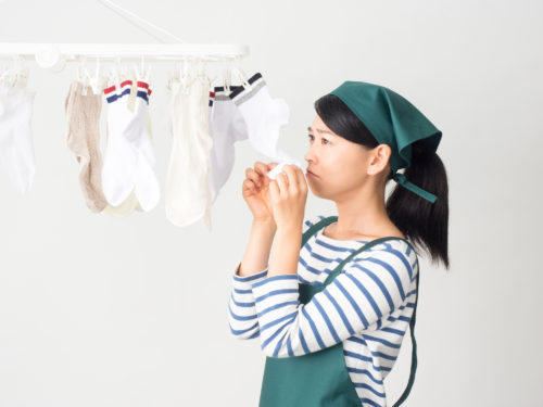 洗濯物が乾かない・・・