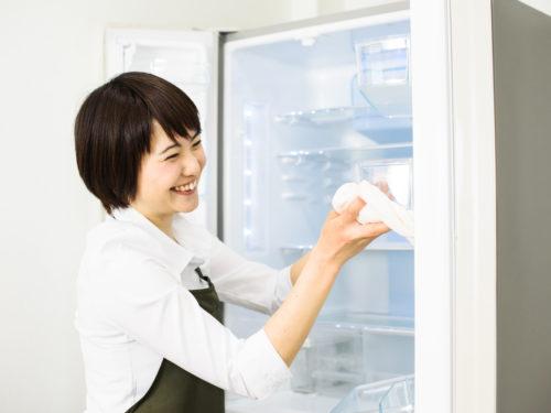 冷蔵庫の清掃