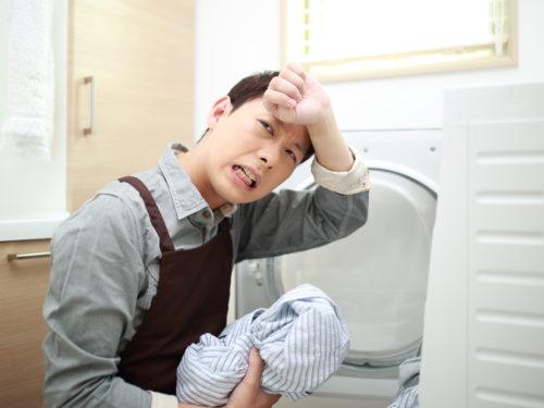 洗濯機のエラーに悩む