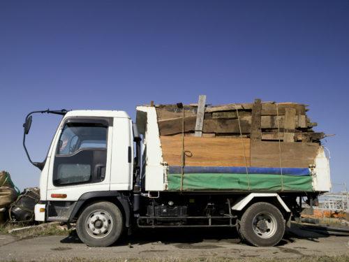 産業廃棄物である木材