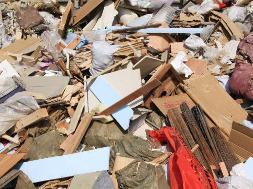 不用品や廃棄物