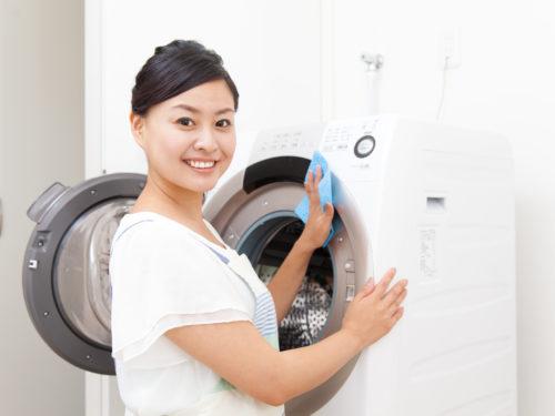 ドラム式洗濯機と主婦