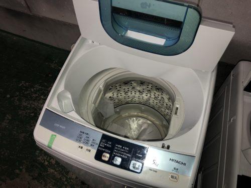 きれいになった洗濯機
