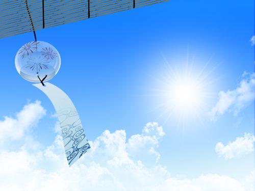 風に揺れる風鈴