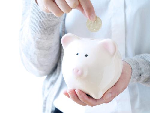 貯金箱の豚